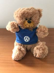 Brown Small VW Plush Bear
