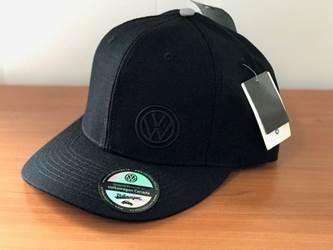 Black Snapback Hat