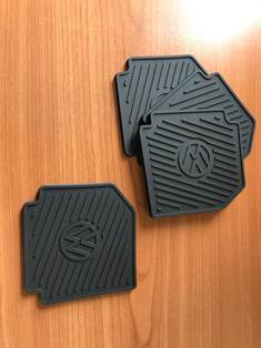 Floor Mat Coasters