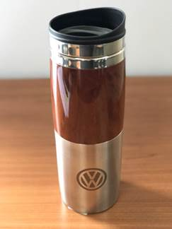 Woodgrain Travel Mug