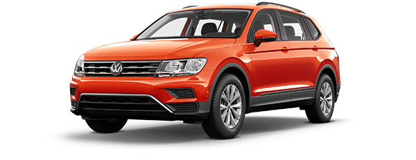 2018 Tiguan Trendline 2.0T with 4MOTION