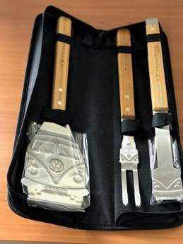 BBQ Tools set w/ Zipper case