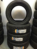 Winter Pirelli tires factory pre-studded