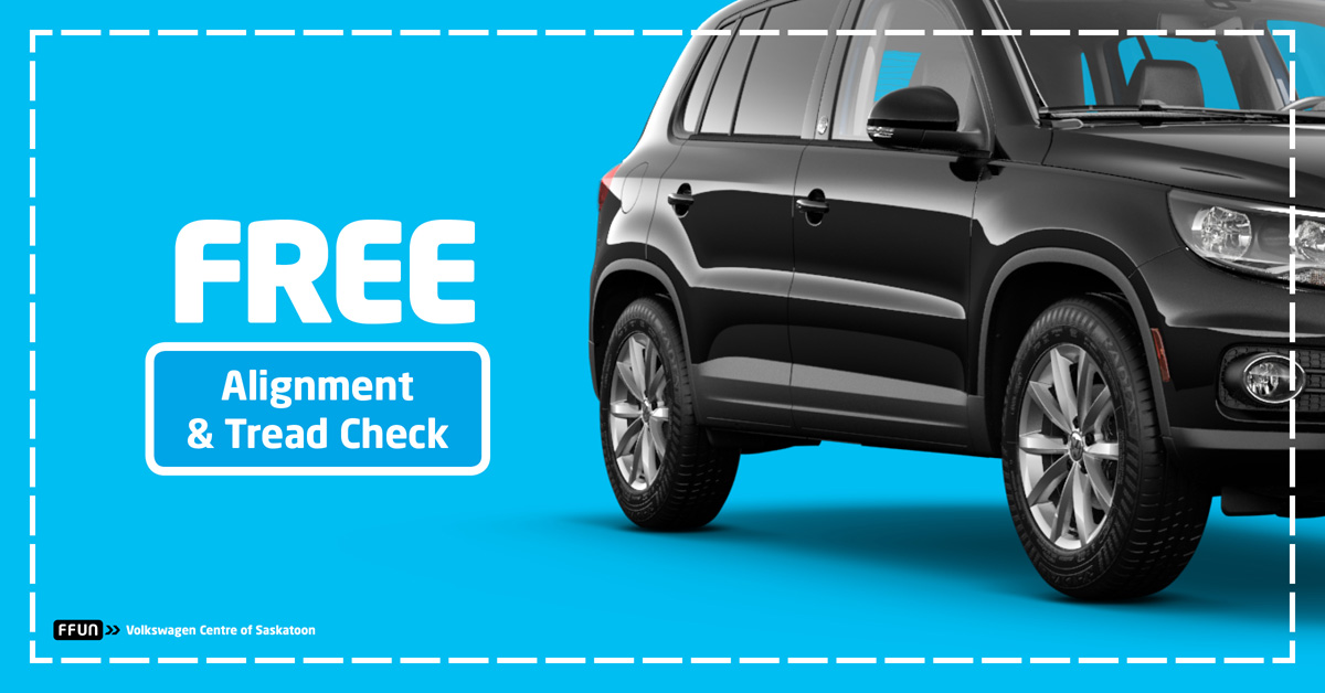 FREE Alignment & Tread-Wear Check