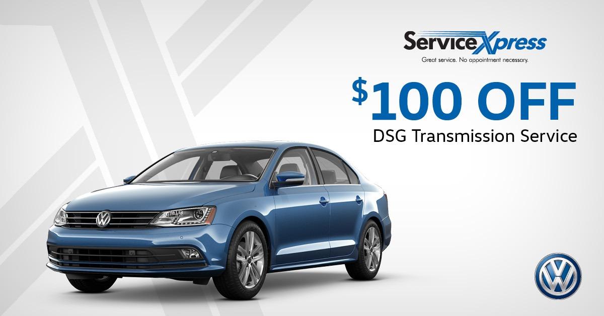 $100 Off DSG Transmission Service