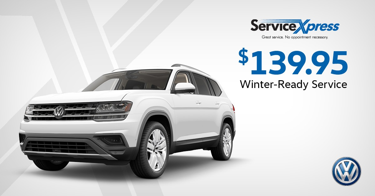 Winter-ready service $139.95
