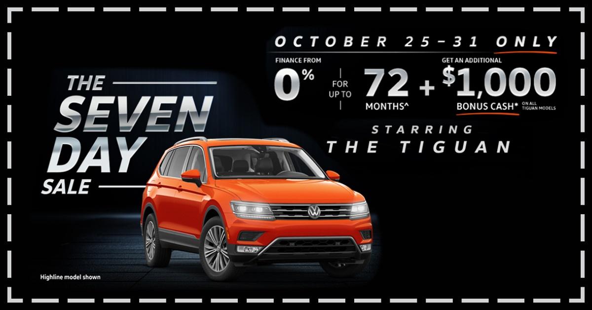 Volkswagen 7-Day Sale!
